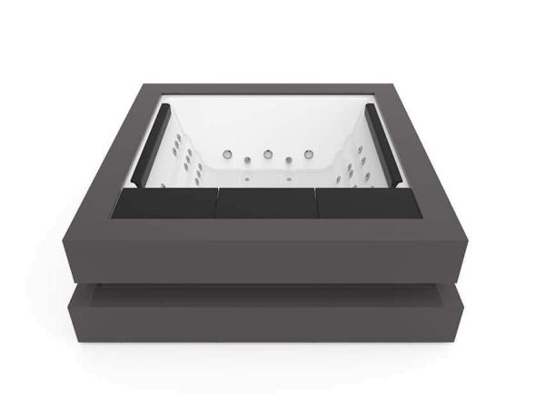 Aquavia SPA Whirlpool Cube Exklusiv Edition
