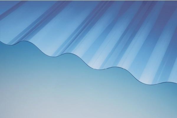 Owolux Wellplatte WP 130/30 rund farblos glatt
