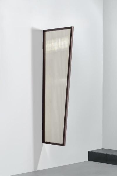 Vordach Seitenblende Stegplatte bronce