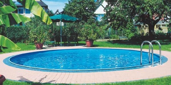 MTH Swimmingpool Rundbecken Set Sunny