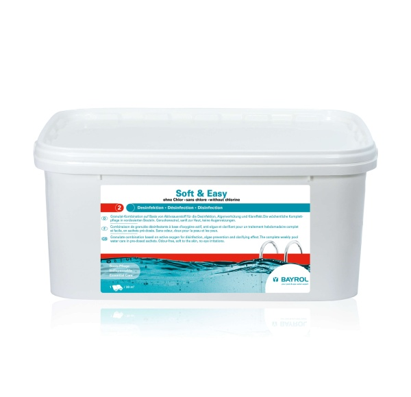 Soft & Easy chlorfreie Poolwasserpflege