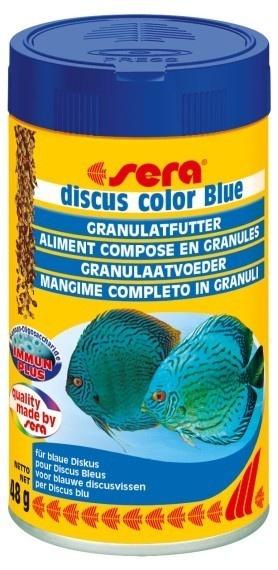 discus color Blue