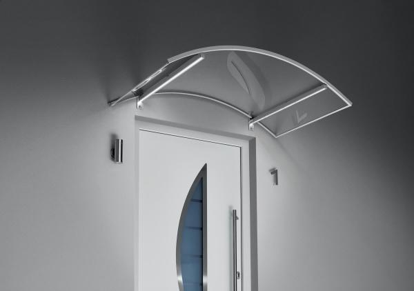 Bogenvordach mit LED Technik
