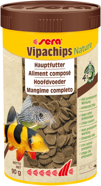 sera Vipachips Nature Aquariumfutter