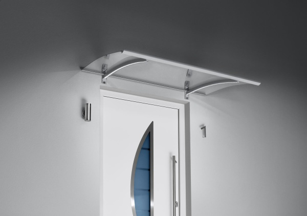 Pultvordach mit LED Technik
