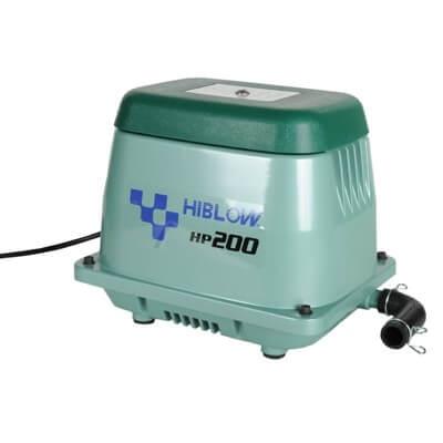 Hiblow professionelle Luftpumpe zur Teichbelüftung